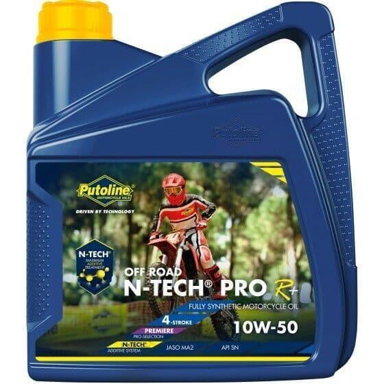 Putoline N-Tech Pro R+ Off Road 10W/50 Fully Synthetic MX Motorbike Oil 4L